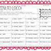 Fabuloso ¡Minuto Loco! para conjugar verbos para tercer a sexto grado de primaria