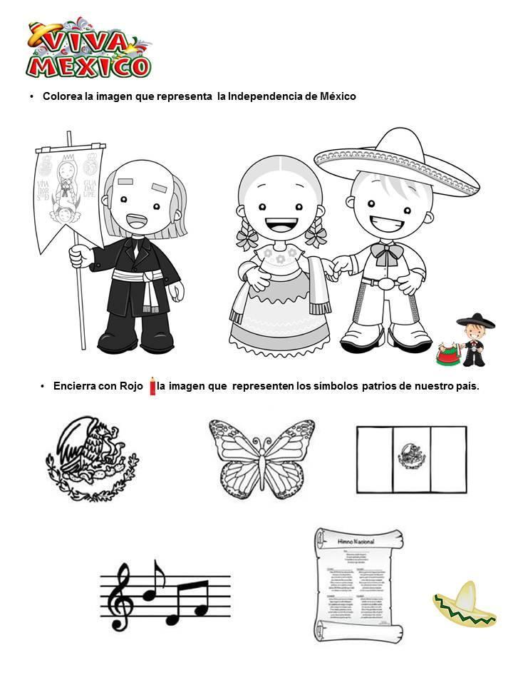 Pinto Dibujos: Independencia de México – 16 de septiembre – para ...