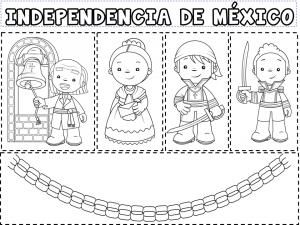 Estupendo Material De Los Personajes De La Independencia De México