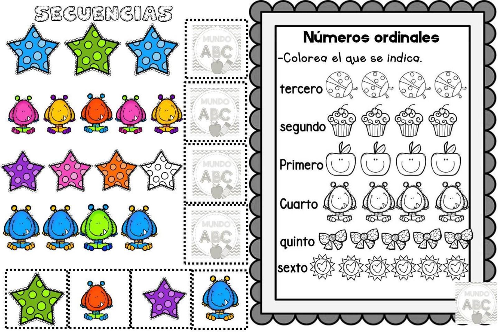 Números Ordinales Educación Primaria
