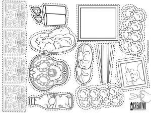 Elementos Del Altar U Ofrenda De Muertos Educación Primaria