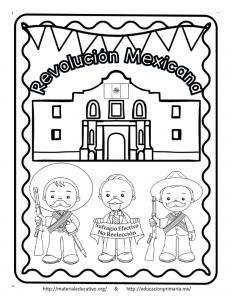Espectacular Lapbook De La Revolución Mexicana Educación Primaria