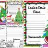 Bonitos formatos para escribir la carta a Santa Claus