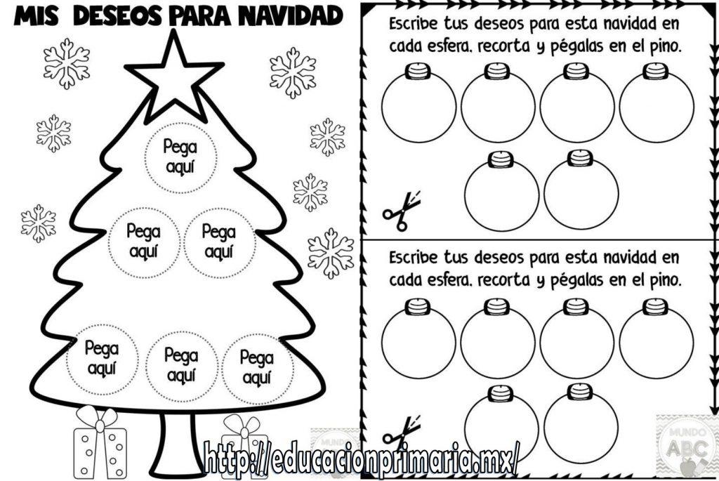 Linda actividad para desear buenos deseos de navidad | Educación ...