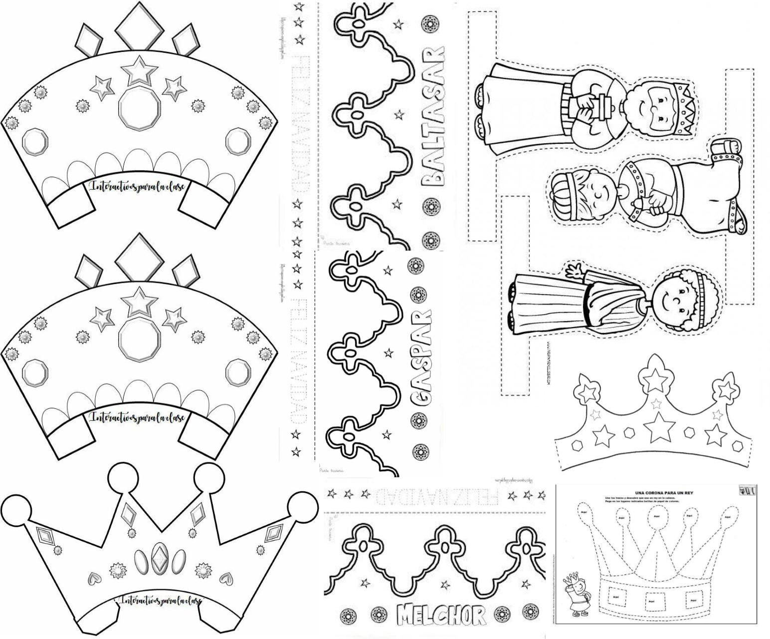 Corona De Reyes Magos Printable - Coronavirus Gallery