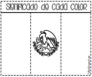 Espectacular Lapbook De La Bandera De México Educación