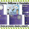 Genial material para enseñar y aprender el ciclo lunar, las estrellas, eclipses y constelaciones