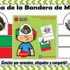 Bonita corona para nuestros alumnos de la bandera de México
