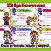 Excelentes, llamativos y fabulosos diplomas variados