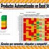 Formatos de productos automatizados en Excel de la quinta sesión del consejo técnico escolar febrero 2018