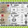 Estupendo, original y creativo material interactivo para trabajar el día de la bandera de México