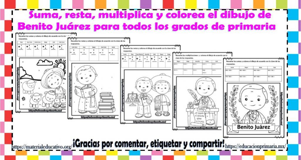 Pinto Dibujos Dibujos Para Colorear De Benito Juarez Fondos De