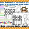 Problemática detectada, estrategia y actividades para preescolar