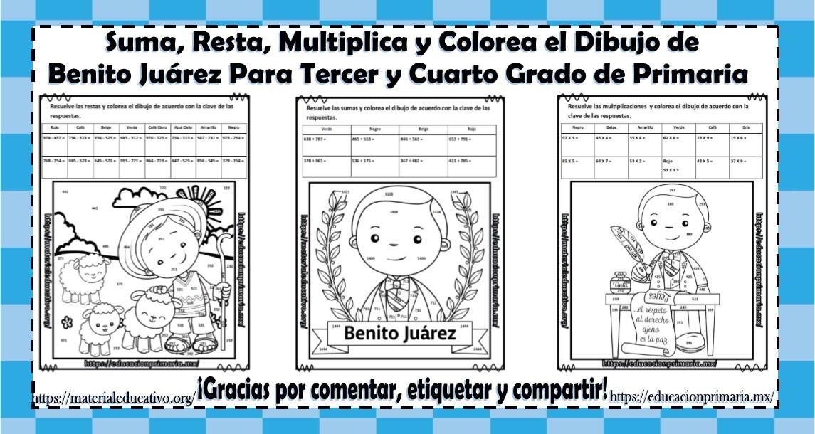 Benito Juárez Educación Primaria