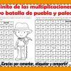 Caminito de las multiplicaciones del 5 de mayo batalla de puebla y paleontóloga