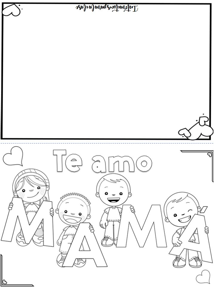 Creativa y linda tarjeta para mamá | Educación Primaria