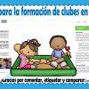 Proyectos para la formación de clubes en preescolar