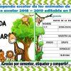 Genial agenda escolar de los animales de la selva para el ciclo escolar 2018 – 2019 editable en PowerPoint