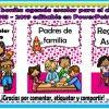 Maravillosa y linda agenda escolar para el ciclo escolar 2018 – 2019 editable en PowerPoint