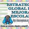 Estrategia global de mejora escolar para el ciclo escolar 2018 – 2019