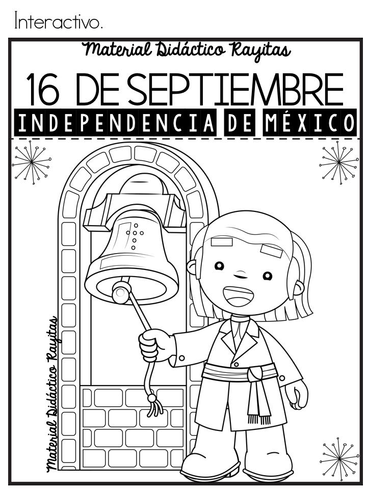 Estupendo Material Interactivo De La Independencia De México 16 De