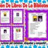 Clasificación de libros de la biblioteca escolar