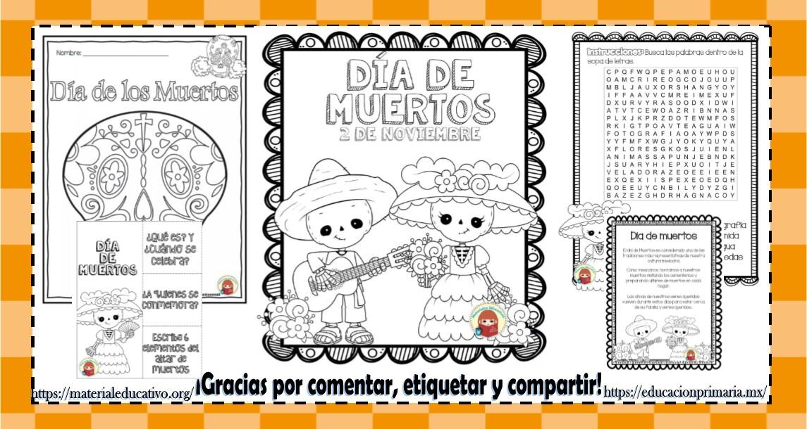 Día De Muertos Educación Primaria