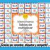 Estupendo y divertido memorama de las tablas de multiplicar