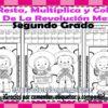 Suma, resta, multiplica y colorea el dibujo de la revolución mexicana para segundo grado de primaria