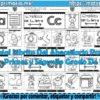 Creativo y espectacular librito del abecedario para preescolar, primer y segundo grado de primaria
