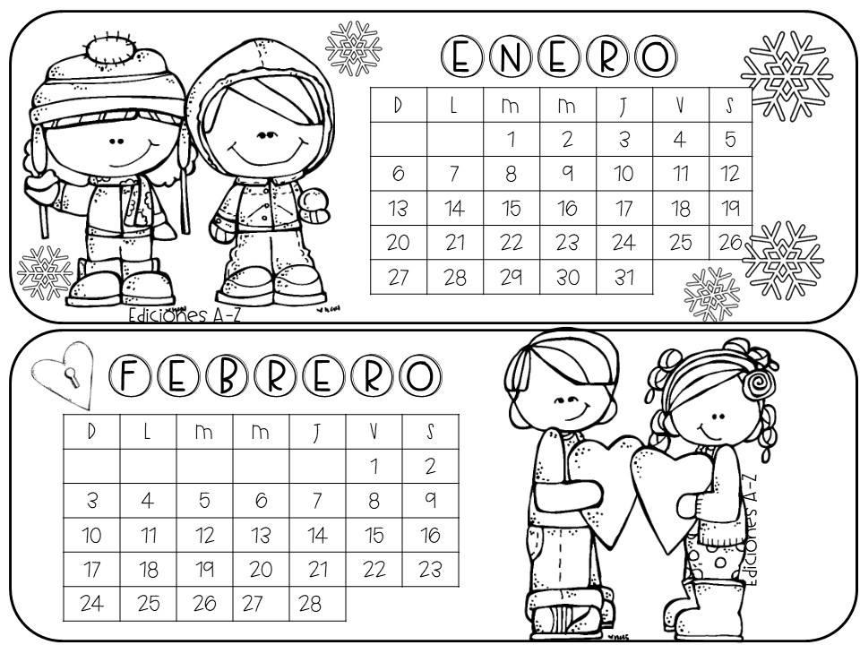 Estupendo calendario 2019 a color, blanco y negro ...