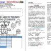 Examen del cuarto grado del mes de febrero del segundo trimestre del ciclo escolar 2018 – 2019