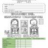Examen del sexto grado del segundo trimestre del ciclo escolar 2018 – 2019