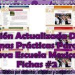 Colección buenas prácticas para la Nueva Escuela Mexicana ficha 2