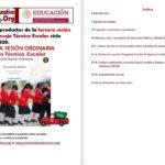 Formatos de los productos para la tercera sesión del consejo técnico escolar 2019 – 2020